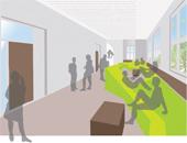 Angesichts sich verändernder Schülerzahlen werden vor allem Neubauten multifunktional gebaut.